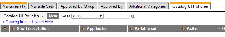 catalog-ui-policy-setup